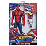 Hasbro Marvel E3552EW0 Spider-Man Titan Hero mit Quantum Power Pack, Mehrfarbige, 5 x 5 x 5 cm