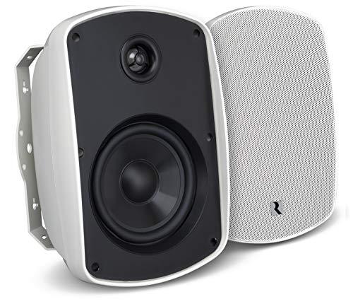 """Russound 5B65SB 6.5"""" Indoor Outdoor Speaker Black"""