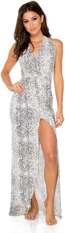 Luli Fama Bombo flosy Long Dress
