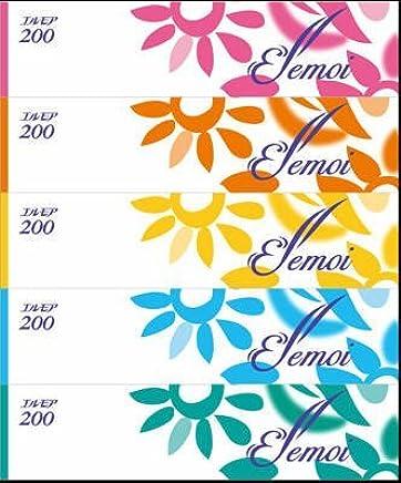 カミ商事 エルモア ティシュー 5箱入×12パック 963-2752
