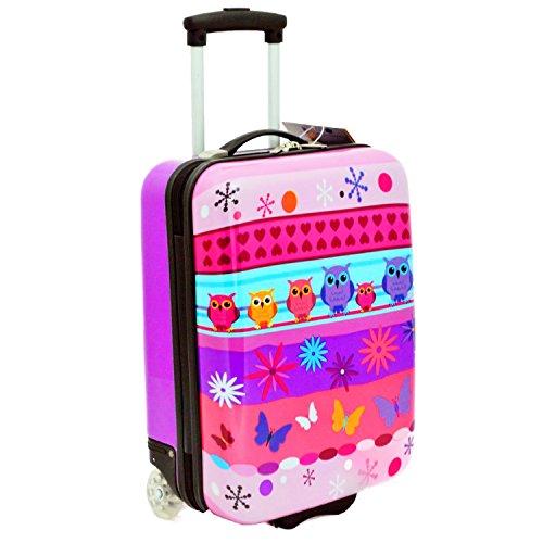Valigia per bambini, 50 cm, colore: viola