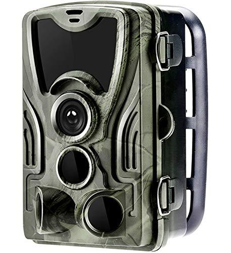 KTYX Cámaras de Vida Silvestre de Rastro de Caza 1080P con Visión Nocturna A Prueba de Agua 0.3s Velocidad de Disparo Detección de Movimiento Trampa de Cámara de Juego para Seguridad en el Hogar