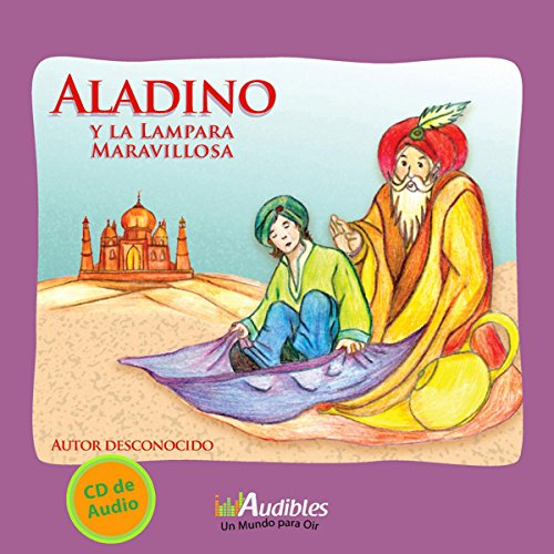 Aladino y la Lámpara Maravillosa [Aladdin and the Wonderful Lamp] audiobook cover art