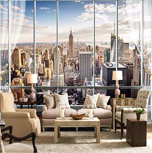 Wuyyii Aangepaste Europees-Style 3D Fotobehang Muurschilderingen Muur Papier Abstracte Lijn Nordic Sofa Tv Achtergrond Thuis Muurdecoratie Schilderen 120x100cm
