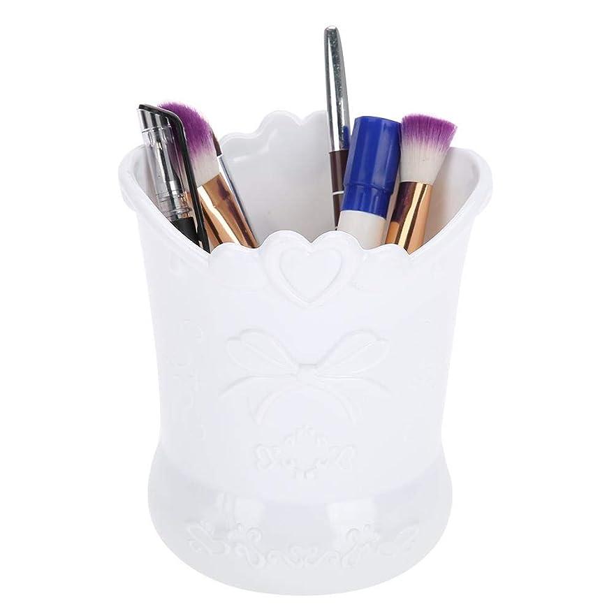 ステレオパースチップ芸術的な釘のための箱、ネイルペイント/ブラシ/マニキュアツールのためのペンのためのペンホルダー、店のマニキュアツール、化粧品、文房具