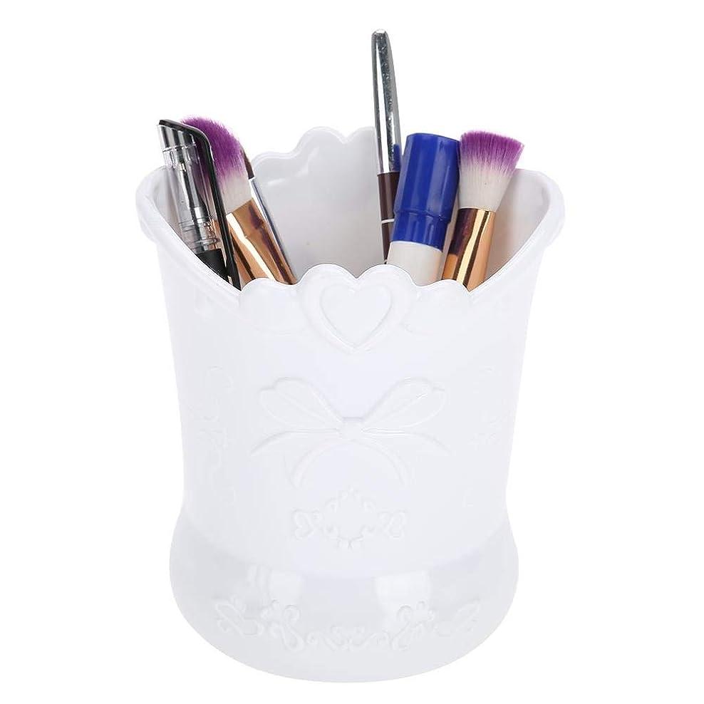 池遅滞非互換芸術的な釘のための箱、ネイルペイント/ブラシ/マニキュアツールのためのペンのためのペンホルダー、店のマニキュアツール、化粧品、文房具