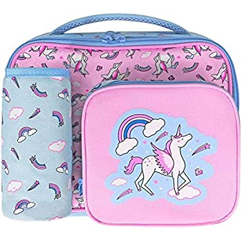 /unicorno Montii bambini termica portapranzo//borsa frigo con integrato Ice Block//confezione/