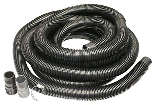 Merrill Sump Pump Universal Discharge Hose Kit, 24-Feet, 1-1/2 Hose- 1-1/4