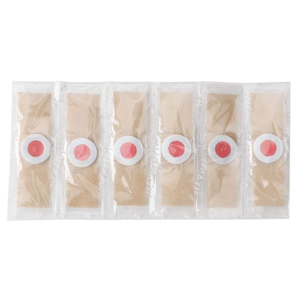 アヒル乗り出す楽しませるトウモロコシ除去剤、足カルス除去石膏クッション用ソフト肌の皮保護つま先ケア痛み6個/箱