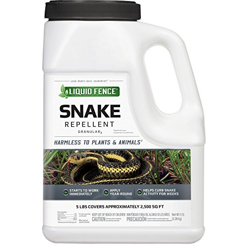 Liquid Fence HG-75011 Snake Repellent Granular, 5-Pound