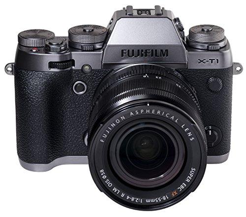 Fujifilm X-T1 + XF 18-55mm MILC 16,3 MP CMOS II 4896 x 3264 Pixeles Grafito, Plata - Cámara Digital (16,3 MP, 4896 x 3264 Pixeles, CMOS II, Full HD, 390 g, Grafito, Plata)