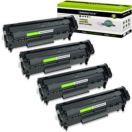 GREENCYCLE high Yield Compatible for Canon 104 CRG104 FX9 FX10 Q2612A 12A Black Toner Cartridge for D420 D480 MF4150 MF4270 MF4350 MF4370 MF4690 L90 1018 1020 M1120 3015 3020 3030 3050 3055