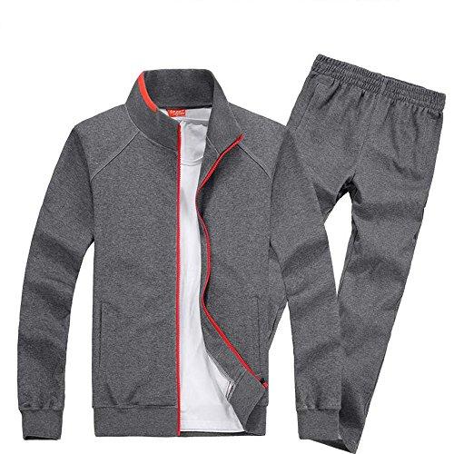Xinga Herren Jogger 2 Teilig Trainingsanzug Fitnessanzug Training Sportanzug