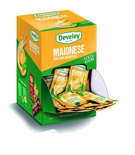 Aperisnack® - AP05.008.01 Maionese Develey monodose con olio di girasole - 100 bustine da 15 ml