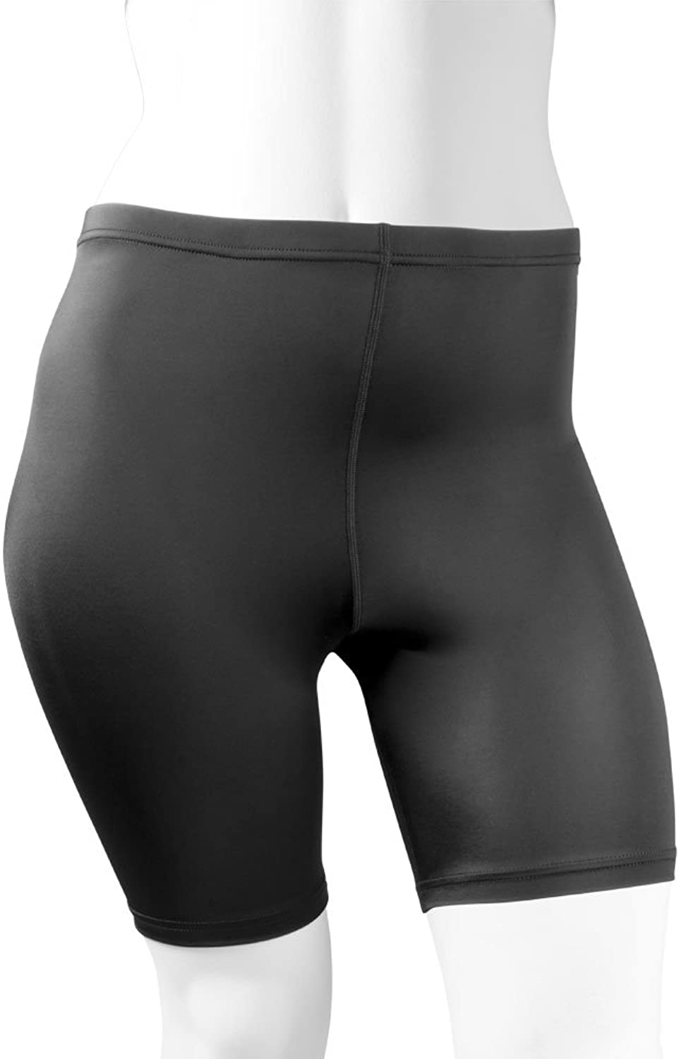 AERO TECH DESIGNS Plus Size Women's Spandex Exercise Short  Compression Workout ShortsMade in USA