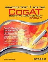 Practice Test 1 for the CogAT - Form 7 - Grade 2 (Level 8): CogAT - Grade 2 (Practice Test for the CogAT - Form 7 - Grade 2)