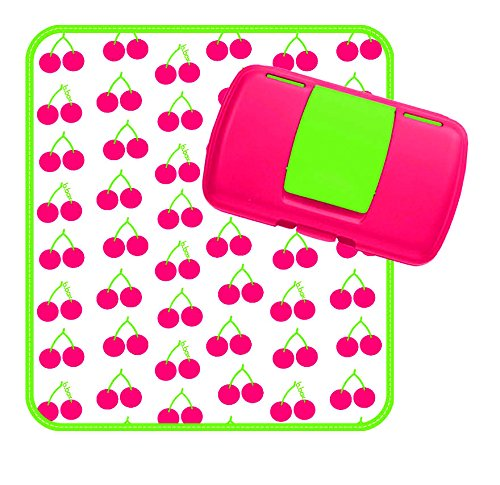 B. Box–Cartera de pañales Cherry Delight)