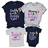 Birthday Girl Shirt for Family Custom Mom Dad Sister Brother of The Birtday T-Shirt