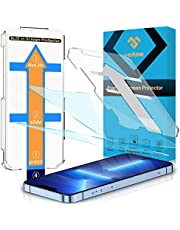 2 Pack MOHAVE Compatible with iPhone 13 Pro Max Privacy Screen Protector 6.7'' with Auto Alignment Kit, Diamond Hardness Anti Spy Tempered Glass, 10X Military Grade Shatterproof, Anti Scratch/ Fingerprint, Bubble Free, Case Friendly (Privacy)