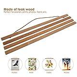 Immagine 1 derclive modern magnetic teak wooden