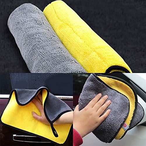 Toalla de coche Cuidado del coche Pulido Hot Super Absorbente Car Wash Cloth Microfibra Toalla Limpieza Paños de secado Rag Detailing Nuevo