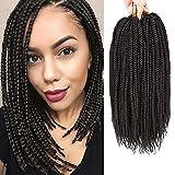 Best Hair For Crochet Braids - VRHOT Box Braids Crochet Hair 6packs PreLooped Crochet Review