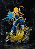 Bandai Dragon Ball 57525-Dragon Figuarts Zero-Super Saiyan Vegetto, 20 cm, 17755