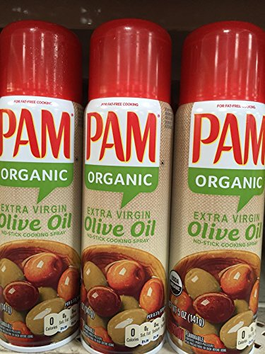 PAM ORGANIC OLIVE OIL COOKING SPRAY 5oz 6pack