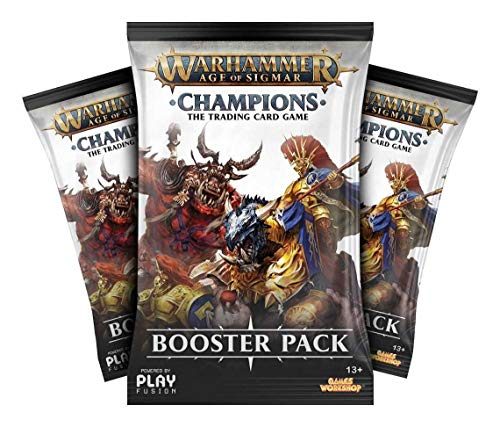 PlayFusion Warhammer Age of Sigmar: Champions Wave 1 Booster Display (24) German