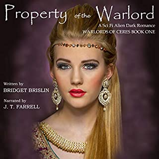 Property of the Warlord: A Sci Fi Alien Dark Romance audiobook cover art