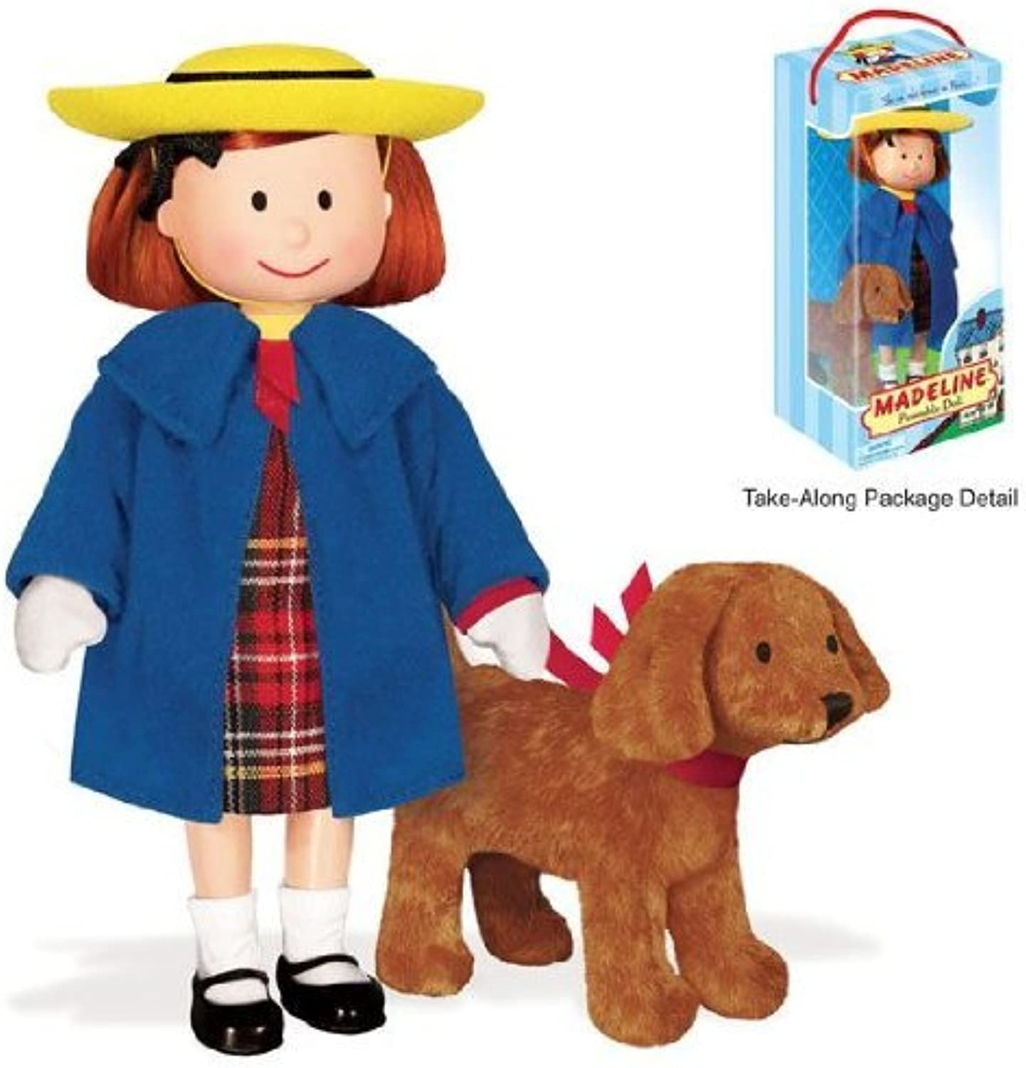Yottoy Madeline 8 Poseable Doll w 4 Genevieve in Take-Along Pkg by YOTTOY