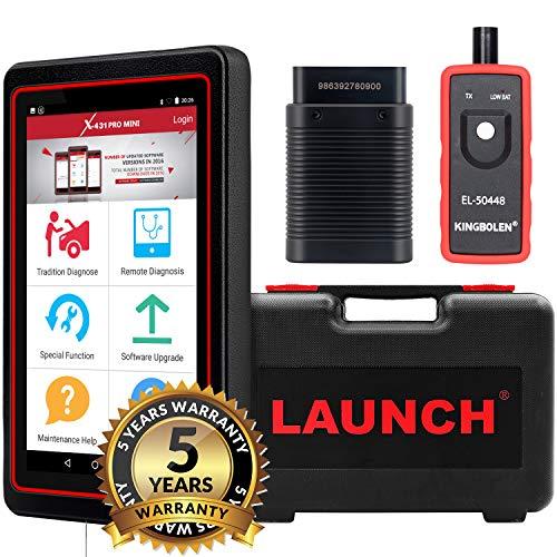 Launch X431 Pro Mini OBDII diagnostico reset olio / azionamento sgancio / reset termometro / funzione SRS / SAS / EPB / BMS / DPF / IMMO + diagnosi remota Wifi / Bluetooth