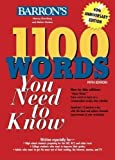 1100 Words You Need to Know (Barron's 1100 Words You Need to Know) 5th (fifth) Edition by Bromberg, Murray, Gordon, Melvin published by Barron's Educational Series (2008) Paperback