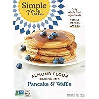 Simple Mills Almond Flour Pancake Mix & Waffle Mix, 10.7 Oz