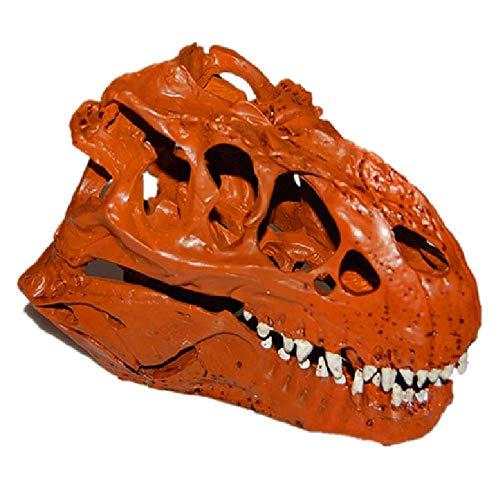 Dinosaurio simulado cráneo Modelo Decoración, realista Personalidad Tyrannosaurus Rex Resina juguete cráneos de animales for la seguridad del Kids' Ciencias de la Educación Juguetes, crear una