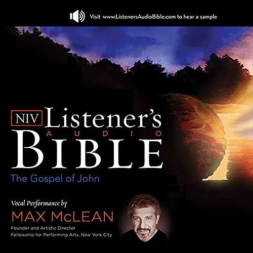 The NIV Listener's Audio Bible, the Gospel of John audiobook cover art