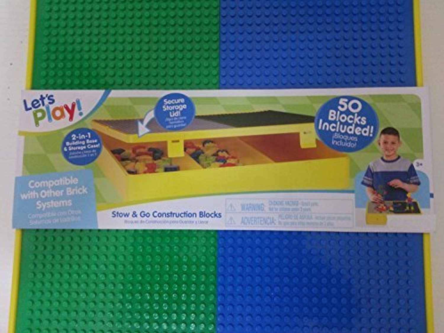 2 in 1 Building Base and Storage Case by Jakks Pacific
