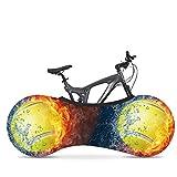 LYYJIAJU Bike-Abdeckung waschbar Elastic Dirt-Free Bike Lagerung Radabdeckung Reifen Paket Fit Alle Fahrräder (Color : 4)