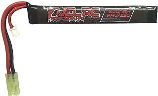 Leslaur Batterie BosLi-Po 11.1V 1000mAh Lipo Airsoft pour Airsoft G36C M4A1-RIS M4A1 CAR15 MP5A5 MC51 FNP90 AUGM G3A4 G36 Steyr