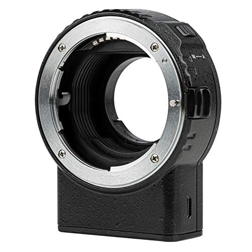 VILTROX レンズマウントアダプター NF-M1 ニコン Nikon Fマウントレンズ→マイクロフォーサーズ M43マウントカメラ AF パナソニック オリンパス BMPCC対応 VR手ぶれ補正 電子接点あり GH4 GH5 GH5S GF5 GF1 GX9 G9 E-M1II E-M10III E-M5 日本語取扱説明書付き