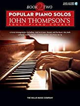 Popular Piano Solos - John Thompson's Adult Piano Course - Book 2 Bk/Audio Online