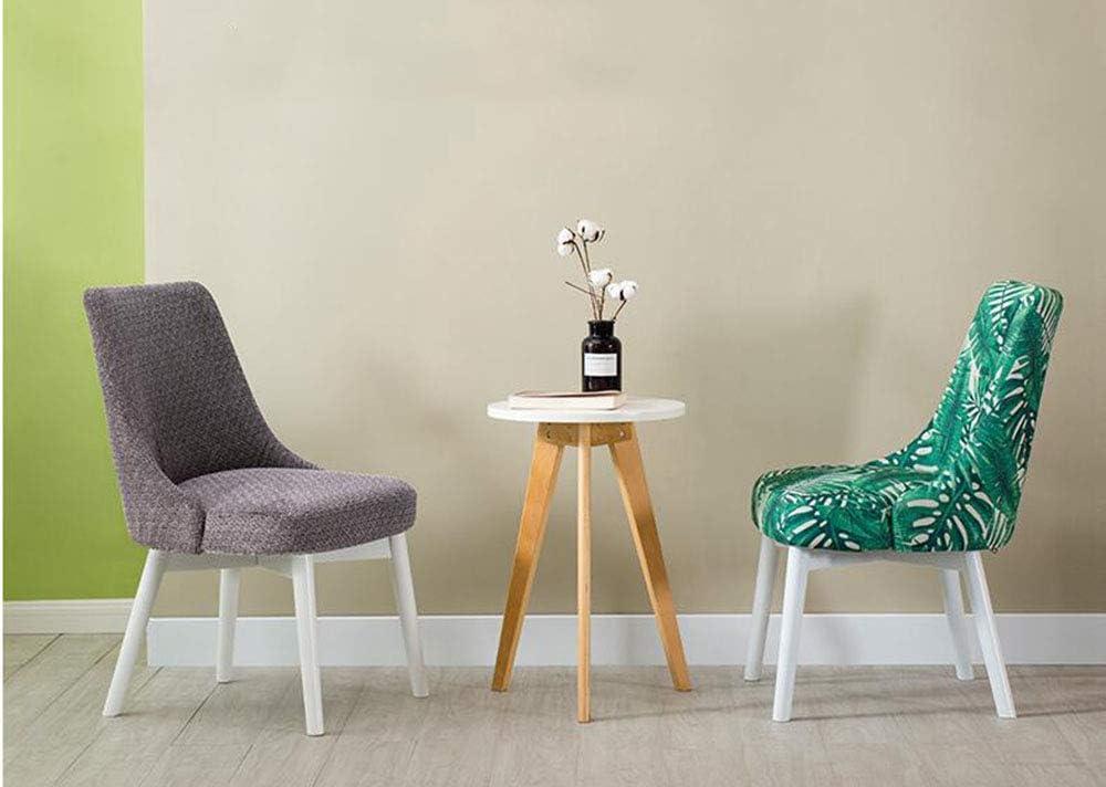 LJFYXZ Chaise de salle à manger en bois massif, chaise d'hôtel Green