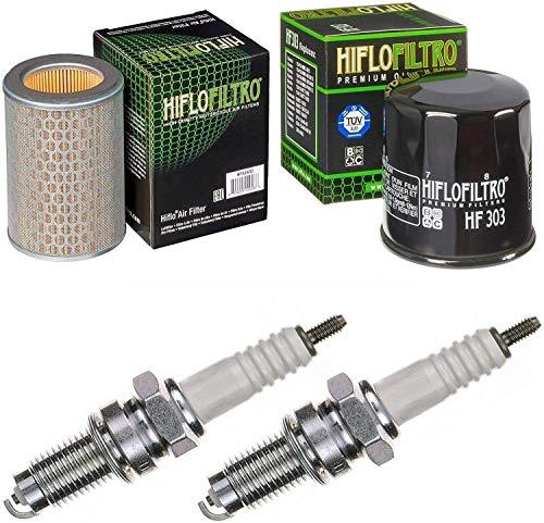 Pamoto Filtro de aire Filtro de aceite Bujías CBF 500 A ABS 2004 – 2008 Kit de mantenimiento