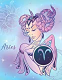 Self Care for Aries Book: Zodiac Star Sign Astrology Notebook | Self Care Check in Journal and Daily Planner | Record Mood Gratitude Affirmations and More (Zodiac Self Care)