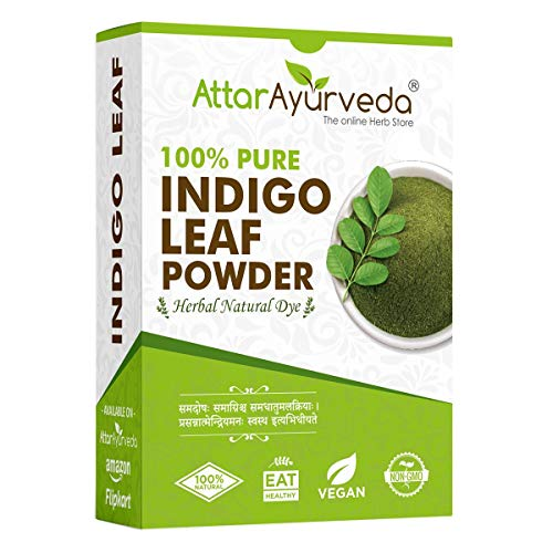 Attar Ayurveda Indigo Powder for black Hair (200 grams)