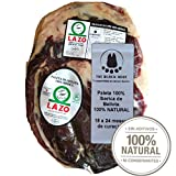 2.2 Kg Pata Negra 100% Iberico Schinken BELLOTA ohne Knochen - Von mit Eicheln gefütterten Iberico-Schweinen und 100% natürlich gereift - Ein wirklich unvergessliches Erlebnis - Jamon Iberico Bellota