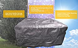 Happy Hot Tubs Spa Protection Bag Protect your cover and spa from UV , strong sun , tree sap, insects etc Prevents fading and colour change 4 handy sizes to choose from Made from enhanced woven Polyethylene