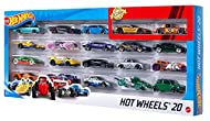 This set is trunkloads of fun with 20 Hot Wheels cars included. Vehicles feature classic decos and hot designs. Collectors and car enthusiasts alike look upon these amazing 1:64 scale vehicles with fondness and reverence. Start a collection instantly...