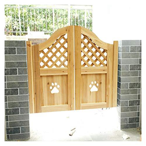QIANDA Puertas Batientes De Bisagra Cafe, Entrada Decoración Bisagras Incluidas Accion Dual Auto Cerrado Estilo Vaquero Tamaño Personalizado (Color : A, Size : 75x80cm)