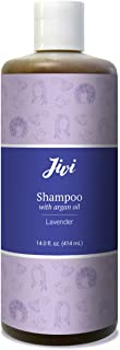 Jivi Shampoo With Argan Oil (Lavender) | Daily Use Shampoo for Healthier Hair | 100% Natural with Organic Ingredients | Made for All Hair Types, Color Safe | 14 fl. oz